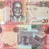 اسکناس 20 پولا - بوتسوانا 2014 سری AG