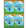 بلوک تمبر سال بین المللی گفتگوی تمدنها - کره جنوبی 2001