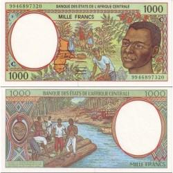 اسکناس 1000 فرانک - کنگو 1999 - آفریقای مرکزی 1999