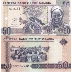 اسکناس 50 دالاسی - گامبیا 2013