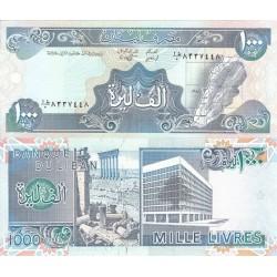 اسکناس 1000 لیر لبنان 1988 تک