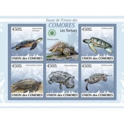 مینی شیت لاکپشتها - کومور 2009 قیمت 11.64 دلار