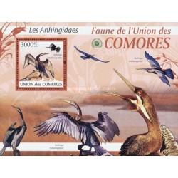 سونیرشیت پرندگان -دارتر آفریقائی - باکلان - کومور 2009 قیمت 13.97 دلار