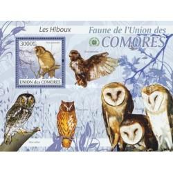سونیرشیت پرندگان - جغدها - کومور 2009 قیمت 13.97 دلار