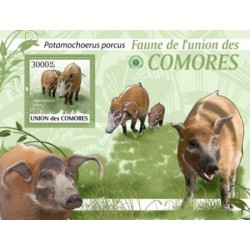 سونیرشیت پستانداران - گراز سرخ  رودخانه - کومور 2009 قیمت 13.97 دلار