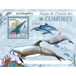 سونیرشیت پستانداران - دلفینها - کومور 2009 قیمت 13.97 دلار