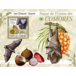 سونیرشیت پستانداران - خفاشها  - کومور 2009 قیمت 13.97 دلار