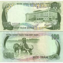 اسکناس 100 دونگ - ویتنام جنوبی 1972