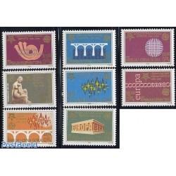 8 عدد تمبر مشترک اروپا - Europa Cept - یادبود پنجاهمین سالروز تمبرهای اروپا - صربستان 2005  مونتنگرو 2005 قیمت 5.2 یورو