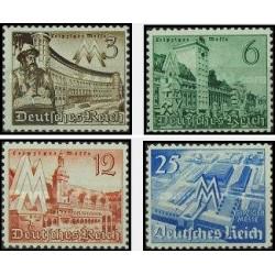 4 عدد تمبر نمایشگاه بهاره لایپزیک - رایش آلمان 1940 با شارنیه قیمت 33 دلار