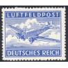1 عدد تمبر پست هوائی  - پست نظامی- رایش آلمان 1942