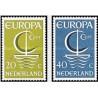 2 عدد تمبر مشترک اروپا - Europa Cept - هلند 1966