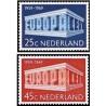 2 عدد تمبر مشترک اروپا - Europa Cept - هلند 1969