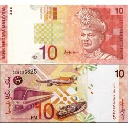 اسکناس 10 رینگیت - مالزی 1999
