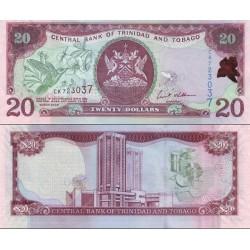 اسکناس 20 دلار - ترینیداد توباگو 2006 امضا Ewart S. Williams