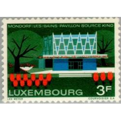 1 عدد تمبر موندورف - لوگزامبورگ 1968