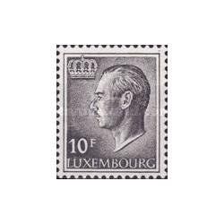 1 عدد تمبر سری پستی - دوک اعظم لوگزامبورگ - لوگزامبورگ 1975
