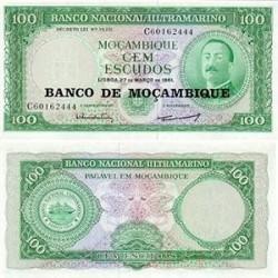 اسکناس 100 اسکودو - موزامبیک 1961