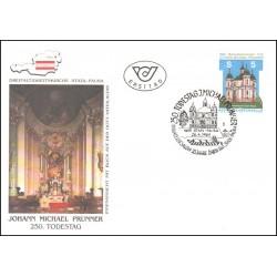 پاکت مهر روز  کلیسای پائورا - اتریش 1989
