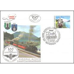 پاکت مهر روز  راه آهن آخنزی - اتریش 1989
