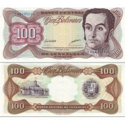 اسکناس 100بولیوار - ونزوئلا 1998    تاریخ 13.10.1998