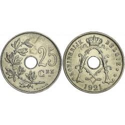 سکه 25 سنتیم- نیکل مس - یاتریش 1922 غیر بانکی