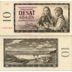 اسکناس 10 کرون - چک اسلواکی 1960