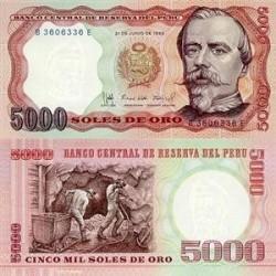 اسکناس 5000 سولس پرو 1985 تک