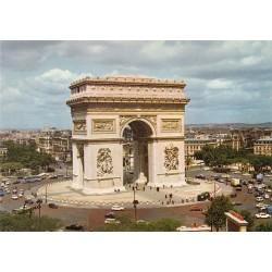 کارت پستال چاپ فرانسه - مناظر پاریس - طاق پیروزی - Arc of triumph