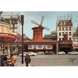 کارت پستال چاپ فرانسه - مناظر پاریس - Montmartre