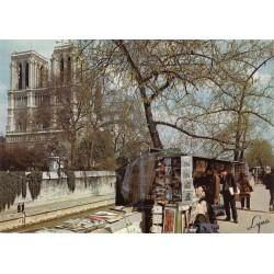 کارت پستال چاپ فرانسه - مناظر پاریس - نوتردام