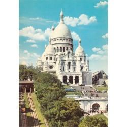 کارت پستال چاپ فرانسه - مناظر پاریس - کلیسای ساکر کور