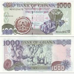 اسکناس 1000 سدی - غنا 2002