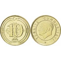 سکه 10 کروز - مس نیکل روی - ترکیه 2011 بانکی
