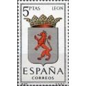 1 عدد تمبر آرم استانها -   León - اسپانیا 1964