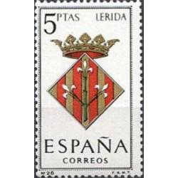 1 عدد تمبر آرم استانها -   Lérida - اسپانیا 1964