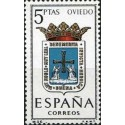 1 عدد تمبر آرم استانها -   Oviedo - اسپانیا 1964