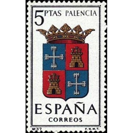 1 عدد تمبر آرم استانها -   Palencia - اسپانیا 1965