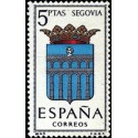 1 عدد تمبر آرم استانها - Segovia - اسپانیا 1965
