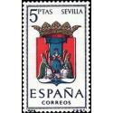 1 عدد تمبر آرم استانها - Sevilla - اسپانیا 1965