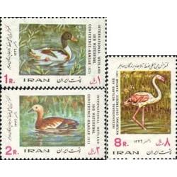 1523 - تمبر کنفرانس بین المللی حفظ پرندگان مهاجر 1349