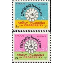 1623 - تمبر روز بهداشت و تنظیم خانواده 1351