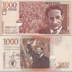 اسکناس 1000 پزو - کلمبیا 2005