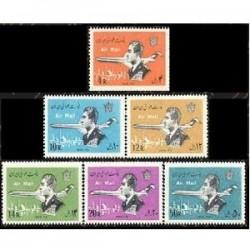 1730 - تمبرهای سری پستی هوائی (2) پهلوی - بلوک