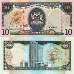 اسکناس 10 دلار - ترینیداد توباگو 2002 تک