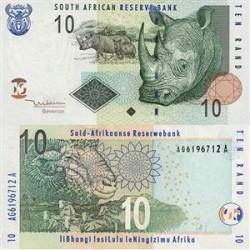 اسکناس 10 رند - آفریقای جنوبی 2005 تک