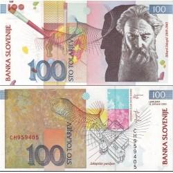 اسکناس 100 تولارجو - اسلوونی 2003