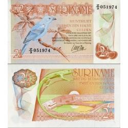 اسکناس ½2 گولدن - سورینام 1985