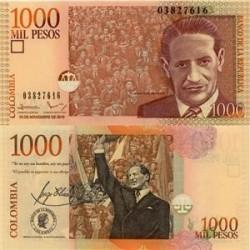 اسکناس 1000 پزو - کلمبیا 2010 تک