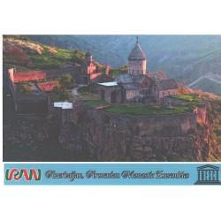 کارت پستال ایرانی - آثار ملی ثبت شده در یونسکو - کلیسای ارامنه - آذربایجان